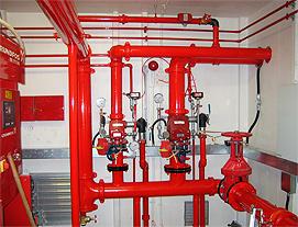 Системы пожаротушения ГК Противопожарный сервис